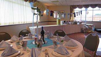 Banquet Room Baby Shower