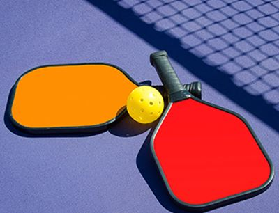 Over 40 Pickleball (Now available by reservation)