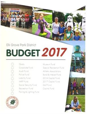 2017 Budget Elk Grove Park District