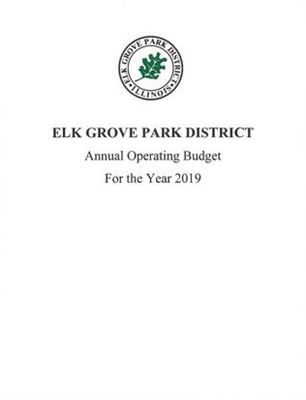 2019 Annual Operating Budget