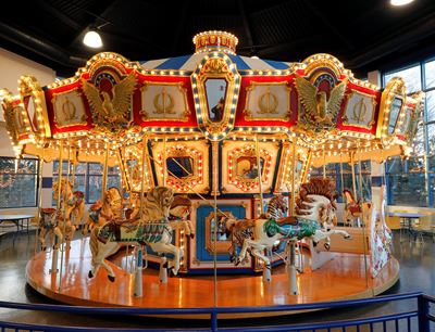 Carousel at Jumps n' Jiggles